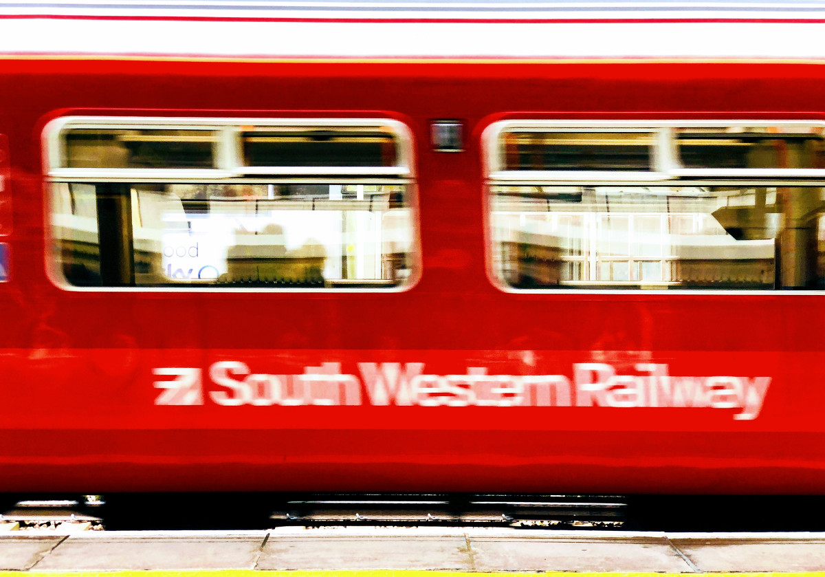 South Western Railway is just one of the many rail operators that can take you to the GO Travel Show. Photo by John Cameron on Unsplash.