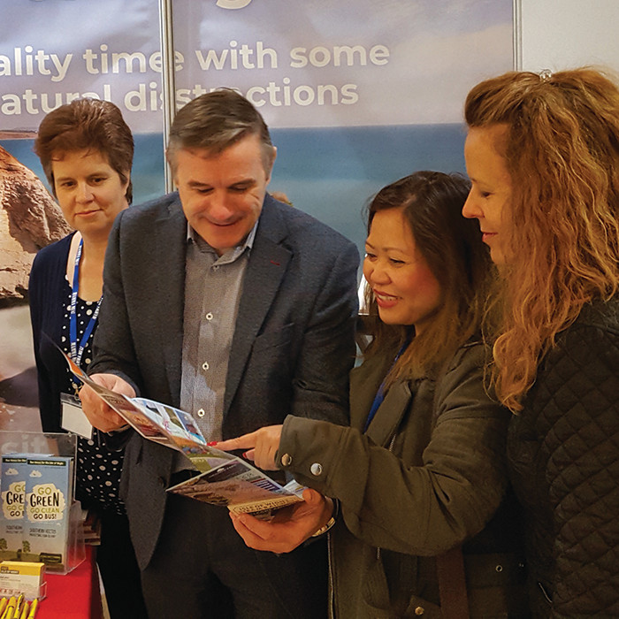 Exhibitors will help you plan your next exciting group trip.