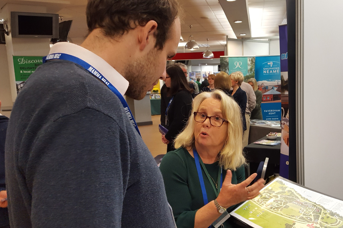 The National Garden Scheme exhibited at the GO Travel Show for the first time in 2019, and was one of our most popular stands.
