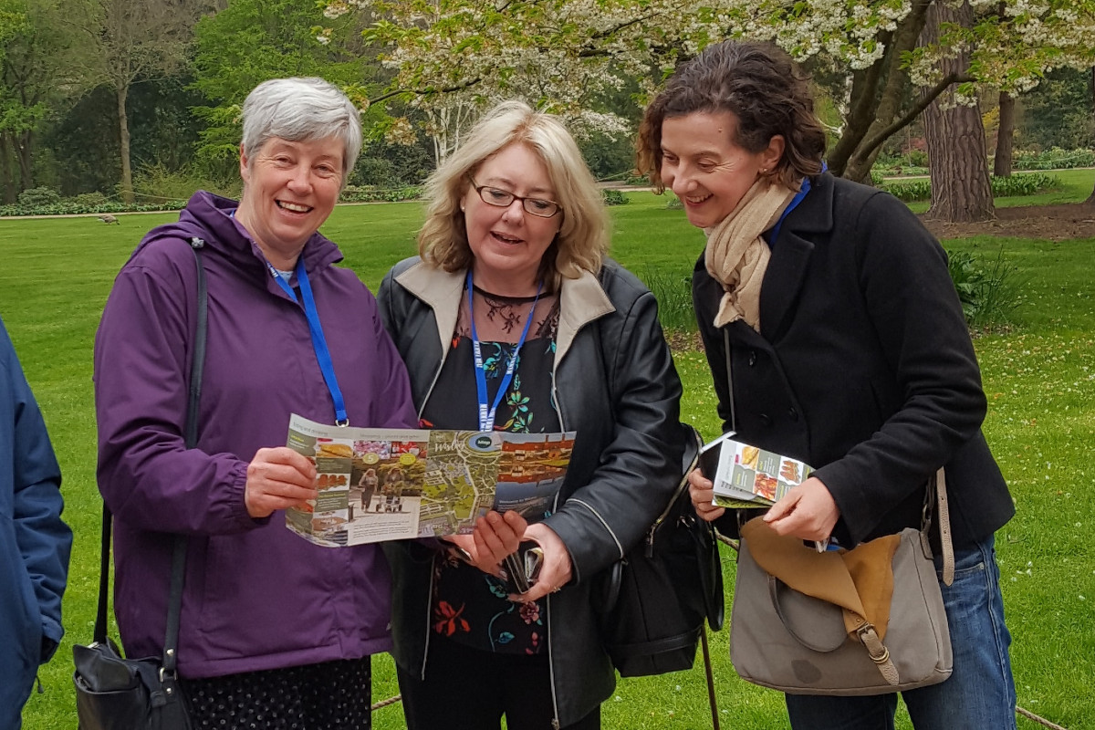 In 2019 RHS Garden Wisley extended an exclusive invitation to GTOs attending the GO Travel Show, with two hours to explore the extensive grounds, and a complimentary drink!