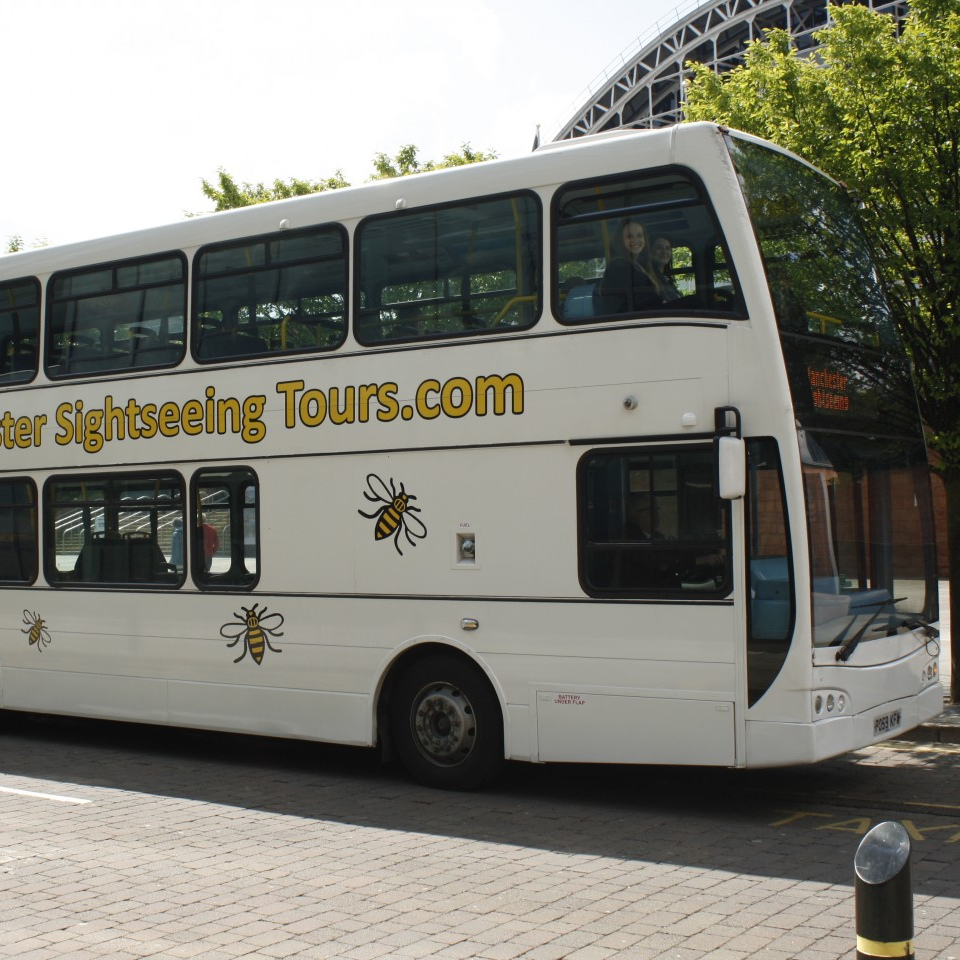 The double-decker bus tour will include live commentary from a guide.