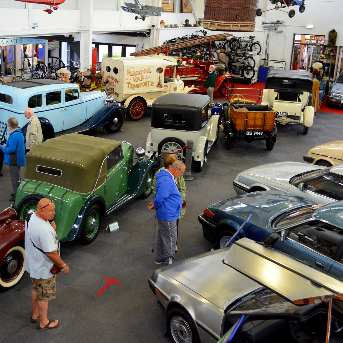 The Lakeland Motor Museum boasts more than 30,000 exhibits.