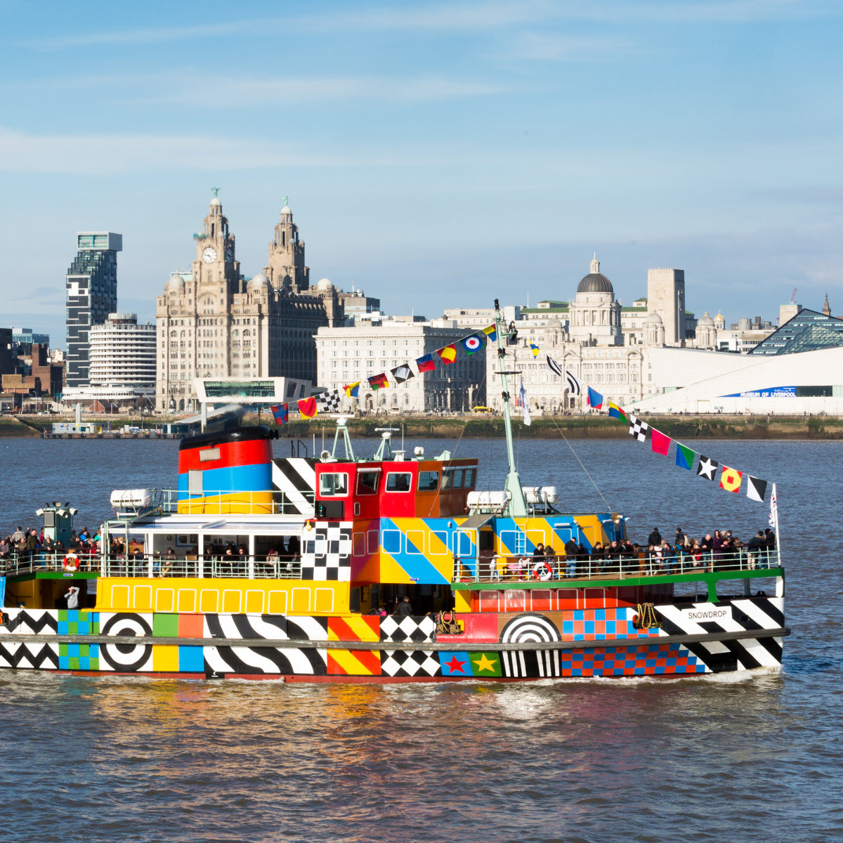 Mersey Ferries have a selection of cruises throughout the year