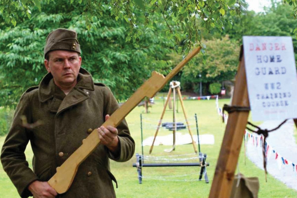 'Black Knight Historical' will engage with visitors in the guise of knowledgeable World War 2 re-enactors.