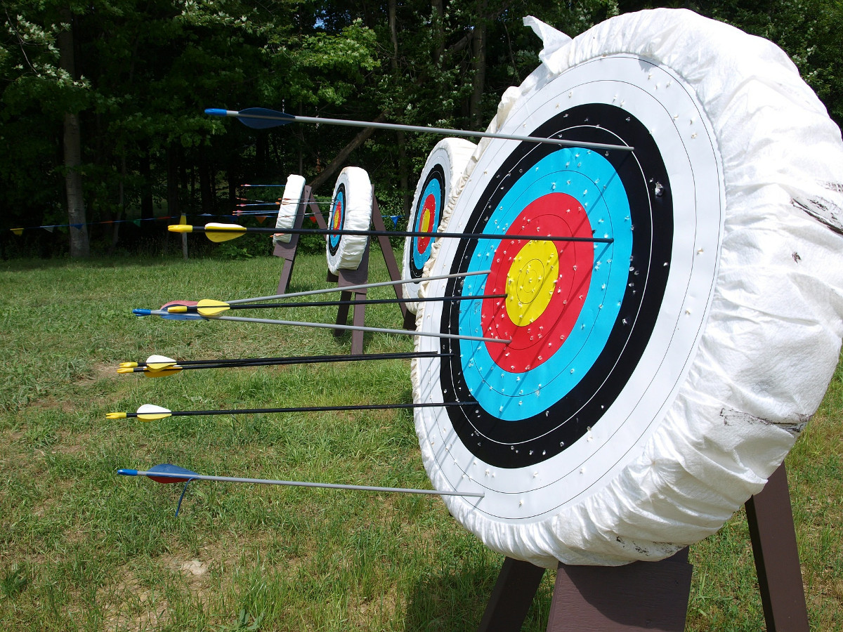 Try your hand at Medieval archery in the beautiful surroundings of the parade ring at Kempton Park.