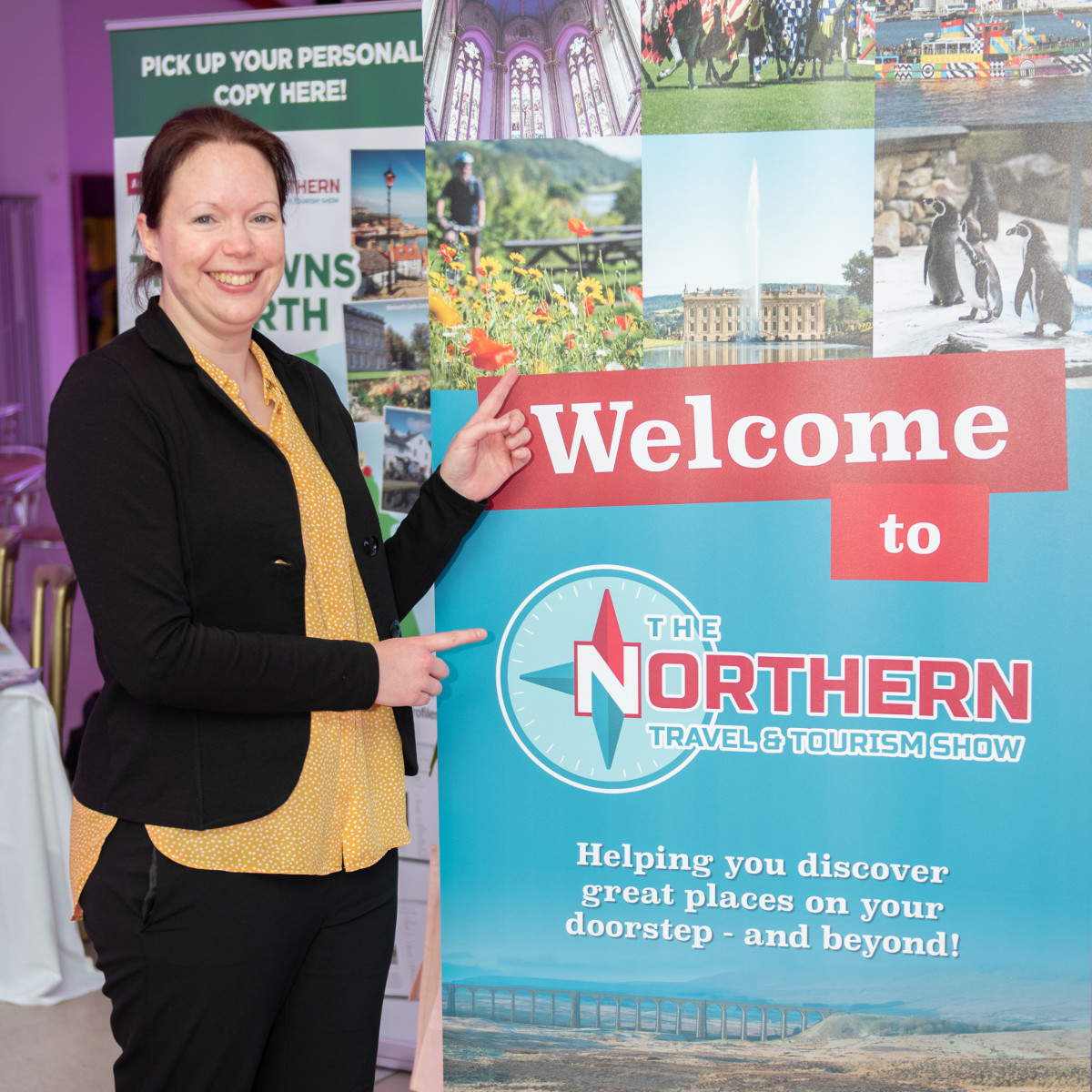 Anoek Petit at the Northern Travel & Tourism Show